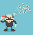 ideas show great ideasand make money vector image vector image