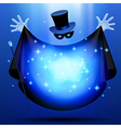 invisible magician vector image vector image