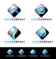 Mobile Application Logo Design vector image