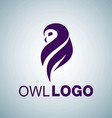 OWL LOGO 2 vector image vector image