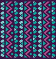 textile vertical simple geometric seamless vector image vector image