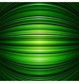 Abstract green warped stripes background vector image vector image