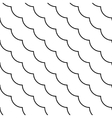 Black and white diagonal fish scale pattern vector image vector image
