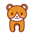 cartoon bear animal image vector image vector image