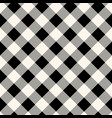 checkered gingham fabric seamless pattern in blue vector image vector image