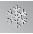 Paper Snowflake vector image