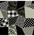 Patchwork pattern vector image vector image