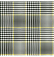 scottish glen plaid pattern vector image vector image
