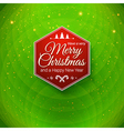 Traditional Merry Christmas and Happy New Year vector image