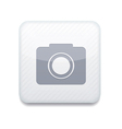 white camera icon Eps10 Easy to edit vector image vector image