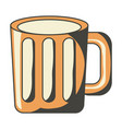 beer jar icon image vector image vector image