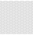 Gray and white japanese seamless pattern vector image vector image