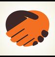 handshake icon stock vector image vector image