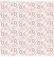 happy word seamless pattern vector image
