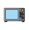 old tv technology vector image vector image