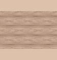seamless pattern of brown wooden boards vector image