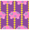 Seamless-Pig-and-Money-pattern vector image