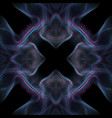 warped parametric glitch background vector image vector image
