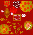 2019 chinese new year vector image vector image