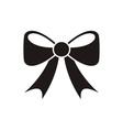 Bow icon Menu icon vector image vector image