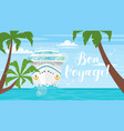 cruise travel and tourism concept vector image