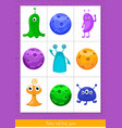 educational children game toddlers activity vector image