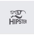 hipster retro design template vector image