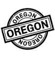 Oregon rubber stamp vector image vector image