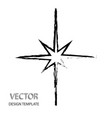 star retro star star background black vector image vector image