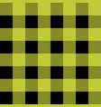 tartan plaid scottish pattern in black and yellow vector image vector image