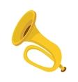 Trumpet icon cartoon style vector image vector image