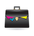 bag icon vector image vector image