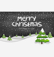 happy new year merry christmas 2019 vector image vector image