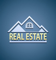 Icon Real Estate vector image vector image