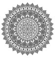 Mandala monochrome design dot painting