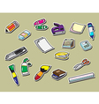 office tool vector image vector image