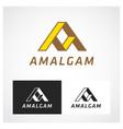 amalgam symbol vector image vector image