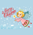 for christmas theme vector image