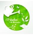 Gardening background vector image vector image