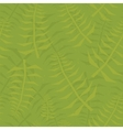 Jungle leaf seamless green pattern vector image vector image