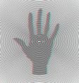 Opt Art vector image vector image