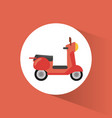 scooter transport vehicle image vector image vector image