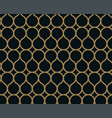 seamless linear pattern with crossing curved vector image vector image