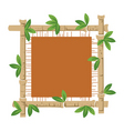bamboo and material vector image vector image