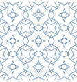 checkered tile pattern or blue and white wallpaper vector image vector image
