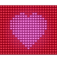 heart for Valentine card vector image vector image