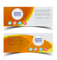 multipurpose layout banner design4 vector image vector image