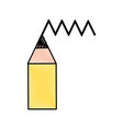 pen tip draw icon vector image