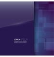 Purple glossy blank with a background texture vector image vector image