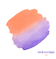 red and purple watercolor circle vector image